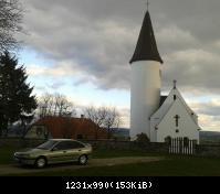 Eglise du Kirchberg, construite en 716