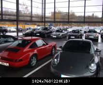 Parking incroyable aux abords des ateliers de maintenance